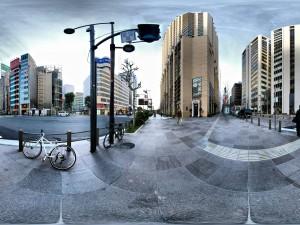 Bicicletas en la calle de una ciudad