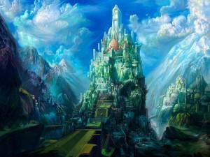 Castillo futurista