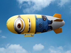 Un Minion dirigible