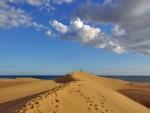 Dunas y playa de Maspalomas (Gran Canaria)