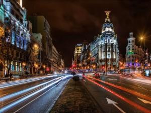 Noche en Madrid (España)