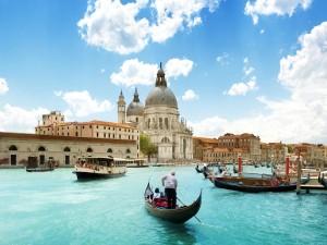 En góndola por Venecia