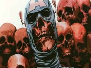 El esqueleto del Capitán América