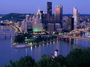 Luces en Pittsburgh (Pensilvania)
