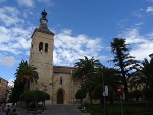 Bonita vista de la Iglesia de San Pedro (Ciudad Real)