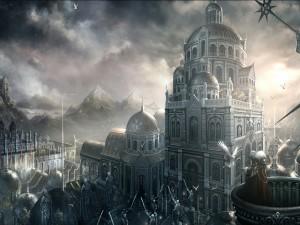 Gran ciudad medieval
