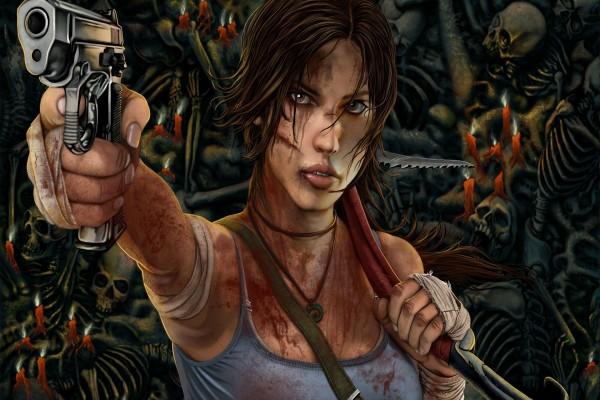 """Lara Croft en """"Tomb Raider Survivor"""""""