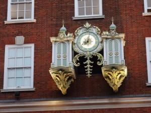 Reloj en Londres