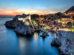 Luces en Dubrovnik