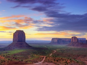Hermosa vista de Monument Valley