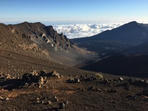 Cráter del volcán Haleakala (Hawái)