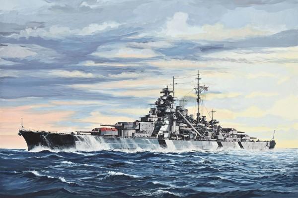 Imagen de un barco militar