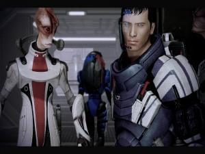 "Imagen del videojuego ""Mass Effect 2"""