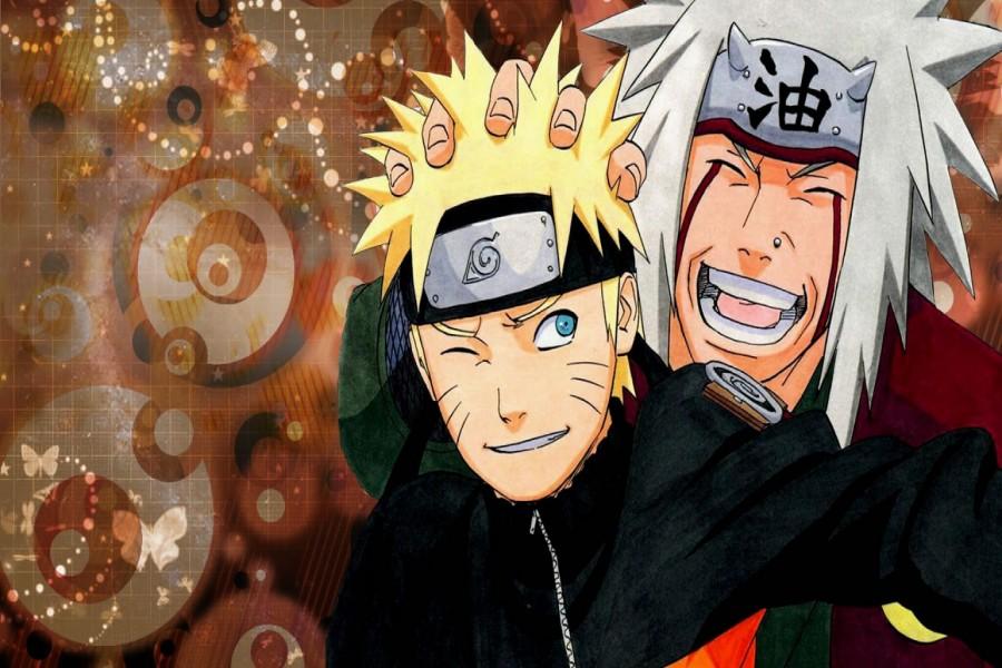 Imagen de Naruto y Jiraiya (Naruto: Shippuden)
