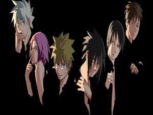 Integrantes del Equipo Kakashi (Naruto: Shippuden)