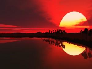 Gran sol reflejado