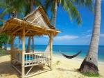 Una playa para relajarse y desconectar