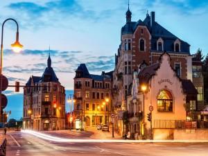 Calle de una ciudad europea