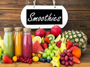 Smoothie de frutas variadas