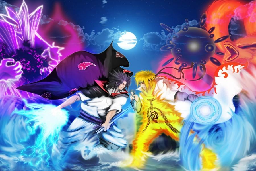 Naruto contra Sasuke