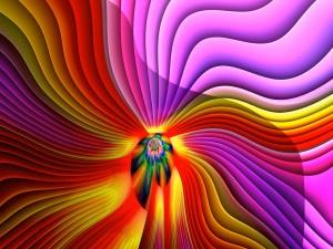 Colores psicodélicos