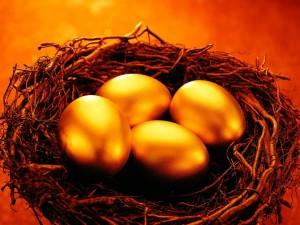 Huevos dorados