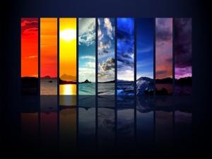 Varios paisajes en la misma imagen
