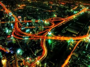 Carreteras iluminadas