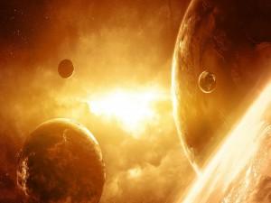 Planetas próximos al sol