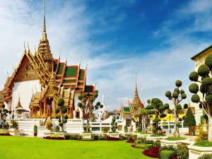 Hermoso templo tailandés