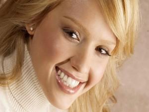 Sonrisa de Jessica Alba