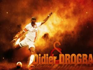 El  futbolista Didier Drogba