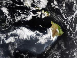 Islas vistas desde el espacio