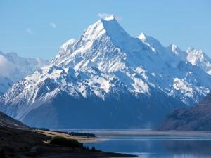 Monte Cook (Parque Nacional de Aoraki, Nueva Zelanda)