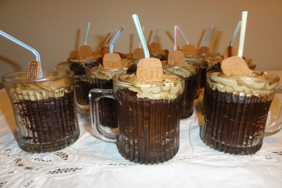 Originales mug cake de cerveza