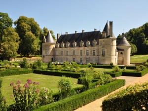 Jardines del castillo de Bussy-Rabutin