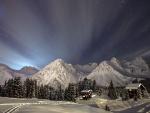 Espectacular noche de invierno