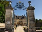 Entrada al castillo de Tanlay (Francia)
