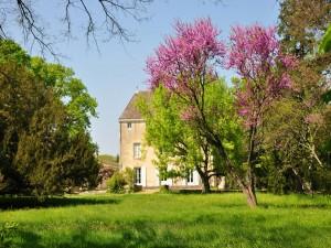 Jardín del castillo de Germolles