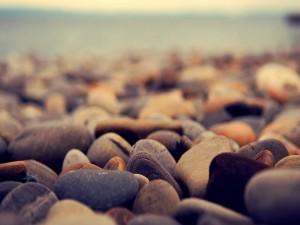 Piedras de varios tamaños