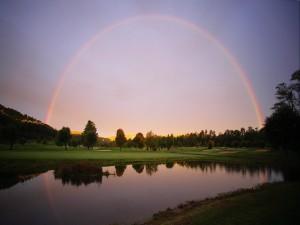 Un hermoso arcoíris