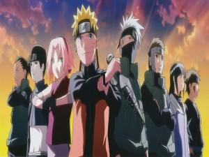Naruto y sus compañeros