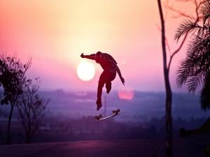 Salto con el skate