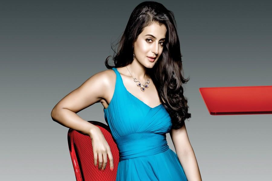 La bella actriz Amisha Patel