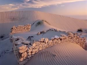 Ruinas en el desierto