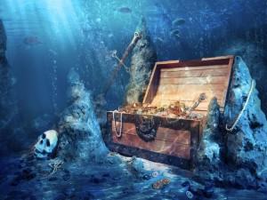 Tesoro en el fondo del mar