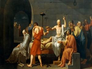 La muerte de Sócrates (Jacques-Louis David)