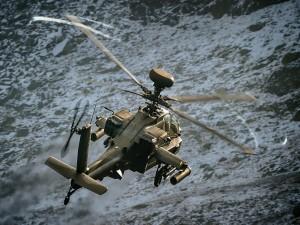 Helicóptero militar Ah-64 Apache