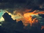 Colores entre las nubes