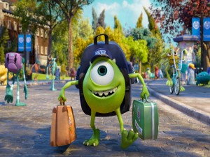 "Mike Wazowski en ""Monsters University"""